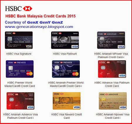 HSBC Credit Cards V 2