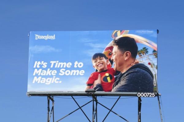make some magic Disneyland billboard