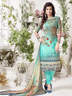 Printed Festival Wear Salwar Kameez