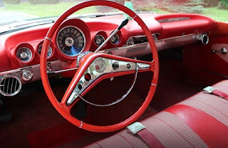 1960 Chevrolet Impala Sports Coupe Steering Wheel