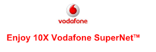 Enjoy 10X Vodafone SuperNetTM data for 3 months with your new 4G smartphone