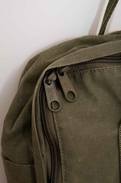 zamki błyskawiczne torby Kanken jak wyglądają