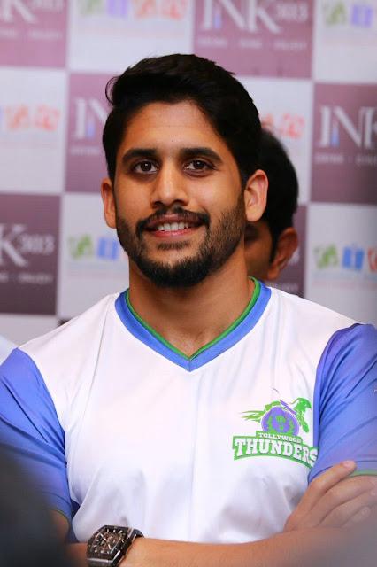 Naga Chaitanya at Celebrity Badminton League Launch Photos