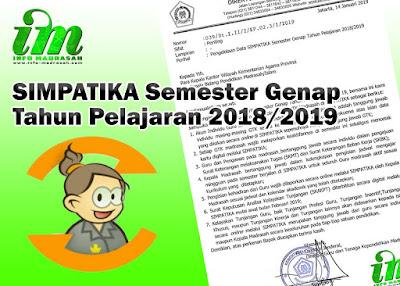 SIMPATIKA Semester Genap Tahun Pelajaran  SIMPATIKA Semester Genap Tahun Pelajaran 2018/2019