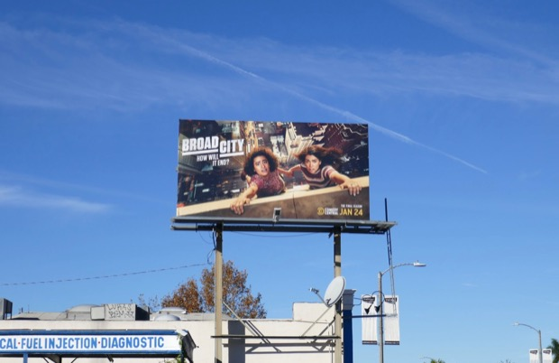 Broad City season 5 billboard