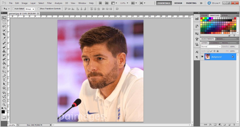 Tutorial Cepat Membuat Galaxy Logo Dengan Photoshop