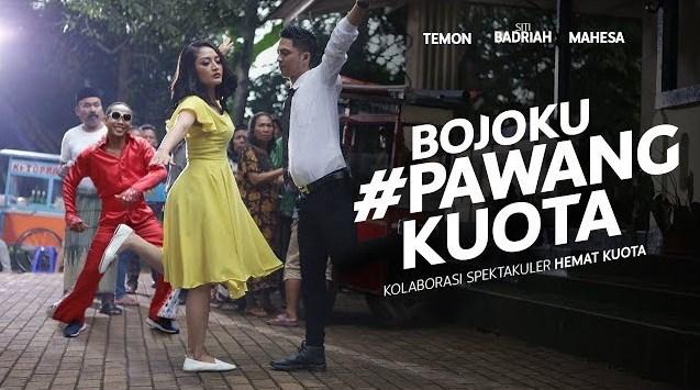 Siti Badriah Dan Mahesa Ofki (ft. Temon) - Bojoku #PawangKuota Iklan Youtube Go