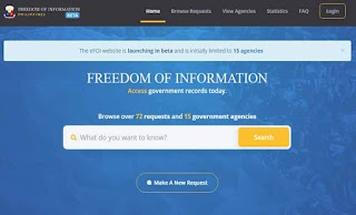 Freedom of Information - 'eFOI'  Access and Request Records Online