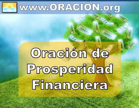 Oración de Prosperidad Financiera