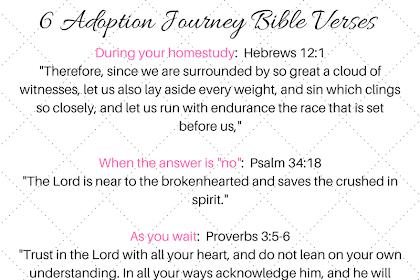 Adoption Bible Verses