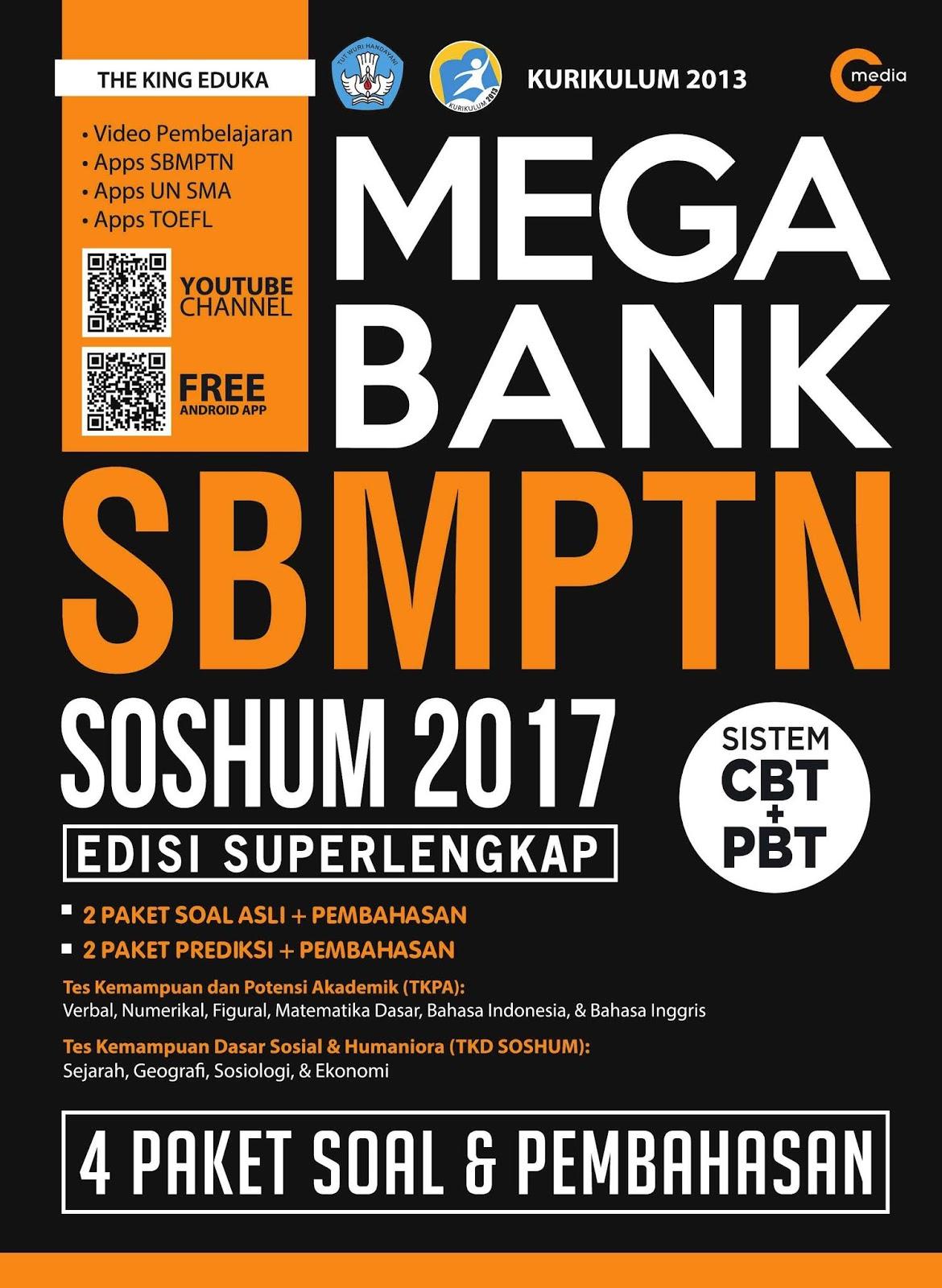 Mega Bank SBMPTN Soshum 2017 (Edisi Super Lengkap)