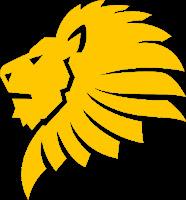 yellow lion icon