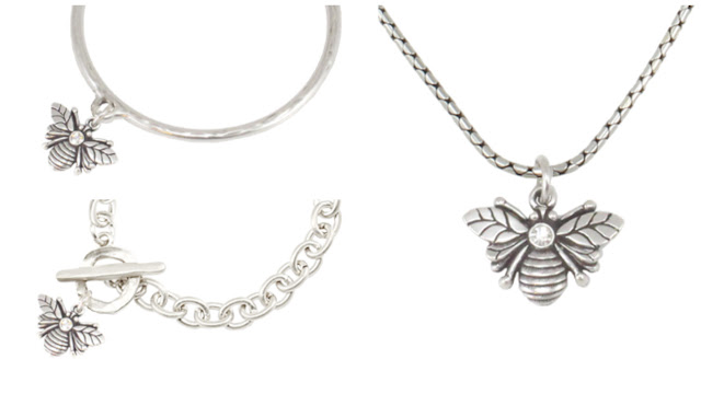 Danon Bee jewellery at https://www.whatlizzyloves.com/shop/