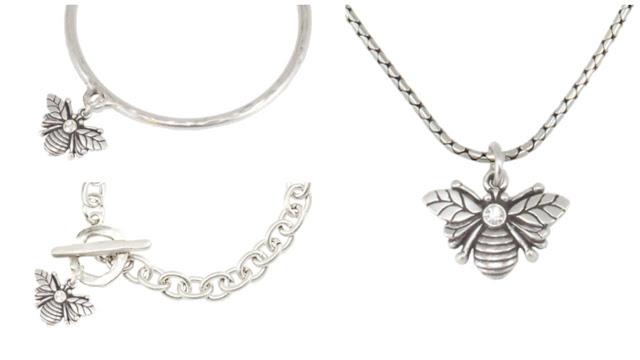 Danon Bee jewellery at https://www.whatlizzyloves.com/shop/