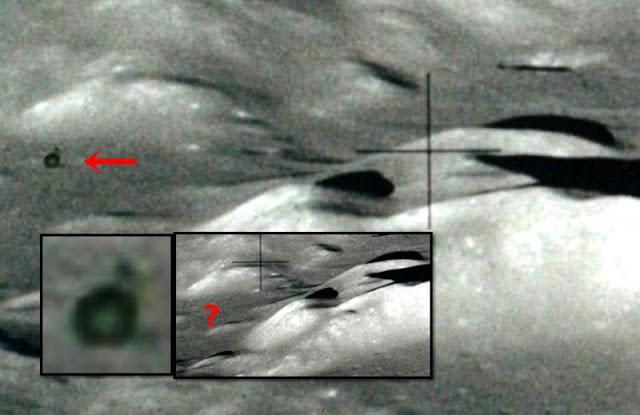 UFO Stalking Apollo 17 - Astronaut photographed a moving ...