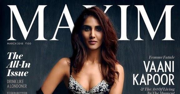 Hot Sexy Vaani Kapoor Photo Shoot For Maxim Photos 2018 gallery