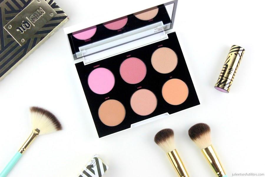 Urban Decay x Gwen Stefani | La palette de blush ! julieetsesfutilites.com