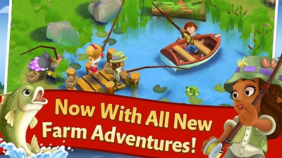 Download free android game FarmVille 2 Country Escape apk