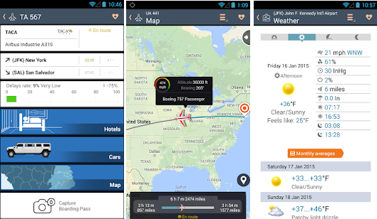 برنامج تتبع رحلات الطيران للاندرويد النسخة المدفوعة مجانا