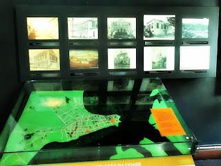Maquete de Porto Alegre antes dos Aterros - Acervo Fotográfico do Museu de Porto Alegre