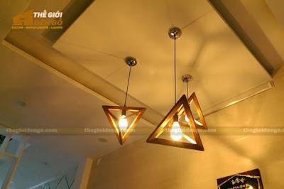 Thế Giới Đèn Gỗ - 8 mẫu đèn trang trí gỗ cho phòng ăn đẹp lung linh 10