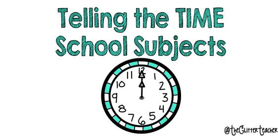 Telling The Time Cuarto De Primaria The Glitter Teacher