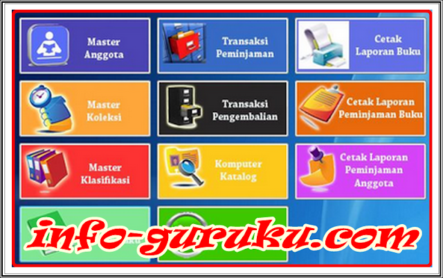 Aplikasi Perpustakaan Khusus SMP, SMA, SMK, MA