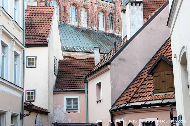 Konventhof, Kalēju iela, facades, Riga, Latvia the touristin