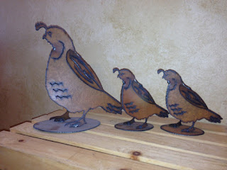 awesome eco-friendly 6th anniversary gift iron quails