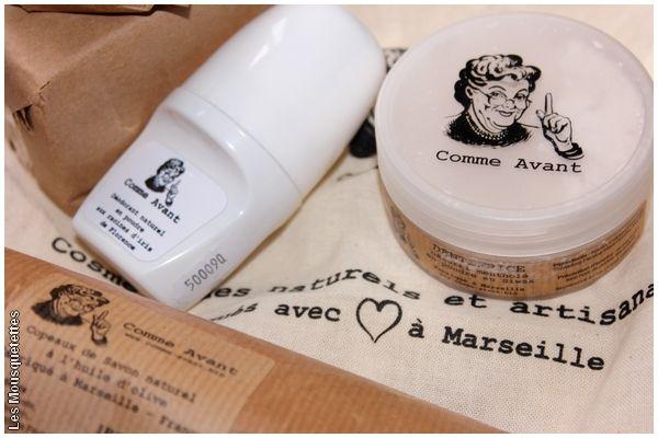Comme Avant, des cosmétiques fabriqués avec amour à Marseille - Avis blog beauté