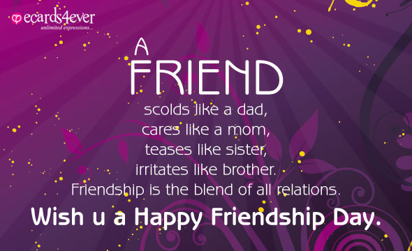 HD Wallpapers Images Pictures Greeting Cards of Friendship Day 2016 - Happy Friendship Day To All