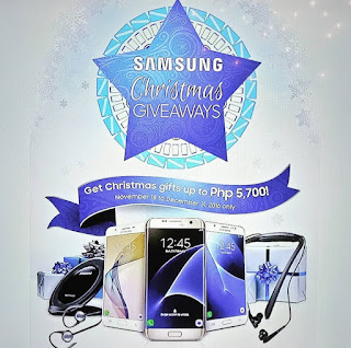 Samsung Christmas Giveaways 2016; Get Gifts Up To Php5,700!