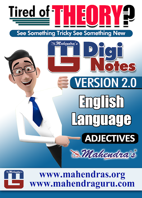 DIGI NOTES - 2.0   ADJECTIVE   19.05.2017