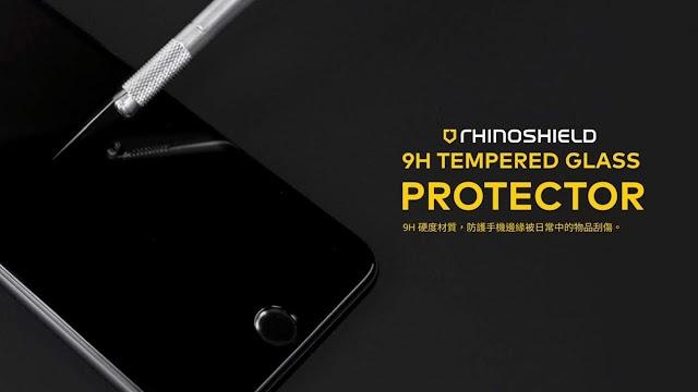 【超好手感】犀牛盾全新 iPhone 9H 3D 滿版玻璃保護貼