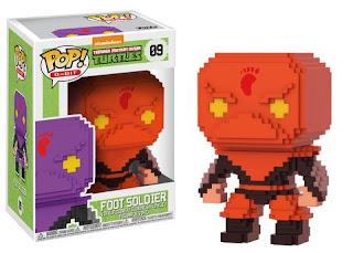 Pop! 8-Bit: TMNT – Red Foot Soldier (500pc LE)