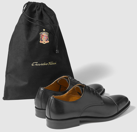 zapatos oficial de la Selección Española de fútbol Eurocopa 2016 Emidio Tucci ECI
