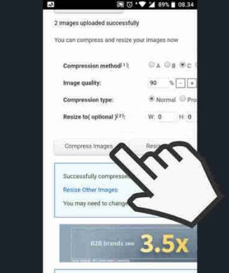 Cara Mengecilkan Ukuran Foto JPG di HP