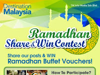 Share Our Posts and Win Ramadhan Buffet Vouchers 2014