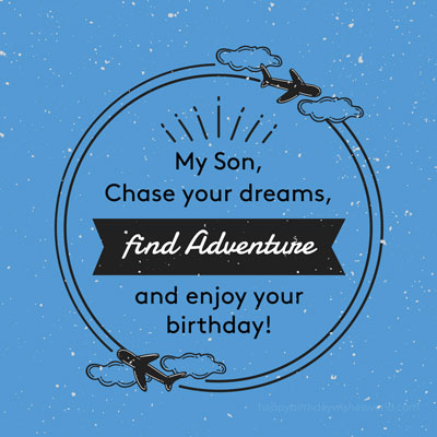 Happy Birthday Wishes | Quotes | Messages and Images for Elder Son