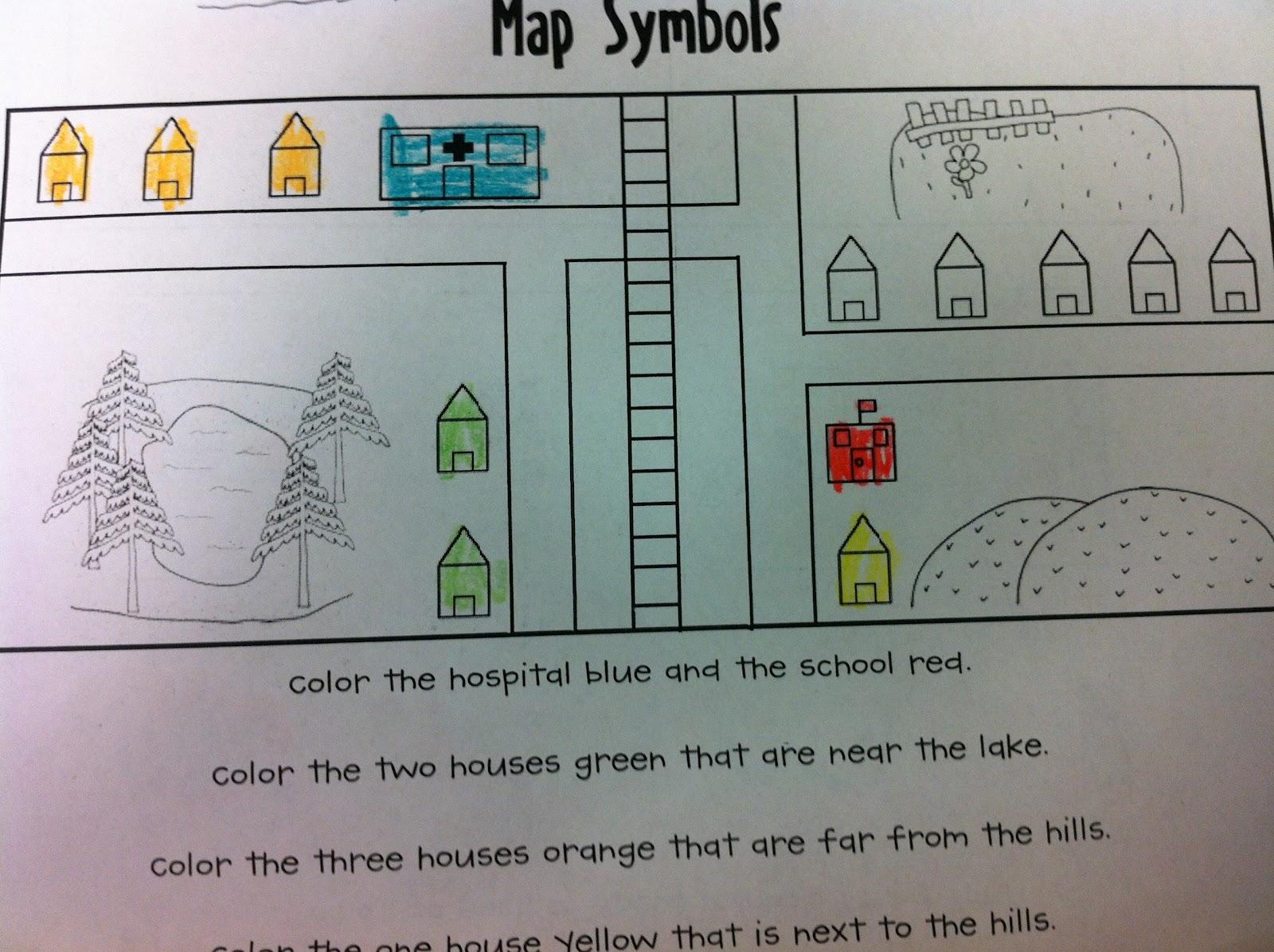 The Adventures Of A K 1 Teacher Marvelous Maps