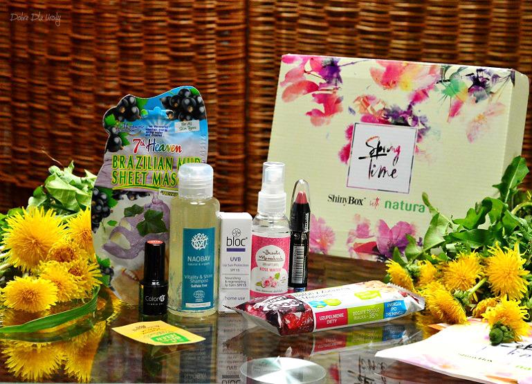 ShinyBox with Natura Spring Time kwietniowy zestaw ShinyBox