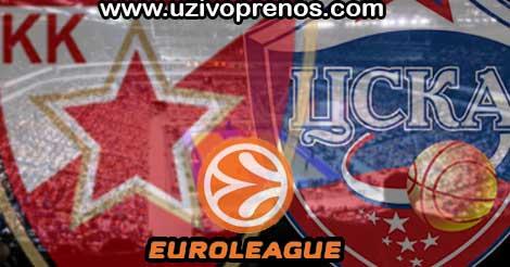 Crvena zvezda - CSKA Moskva UŽIVO PRENOS ONLINE