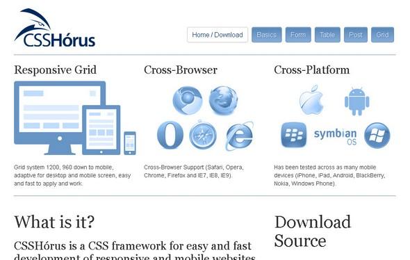 CSSHórus Framework