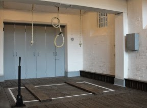 Wandsworth Prison - The Gallows.  (From Capital Punishment UK)
