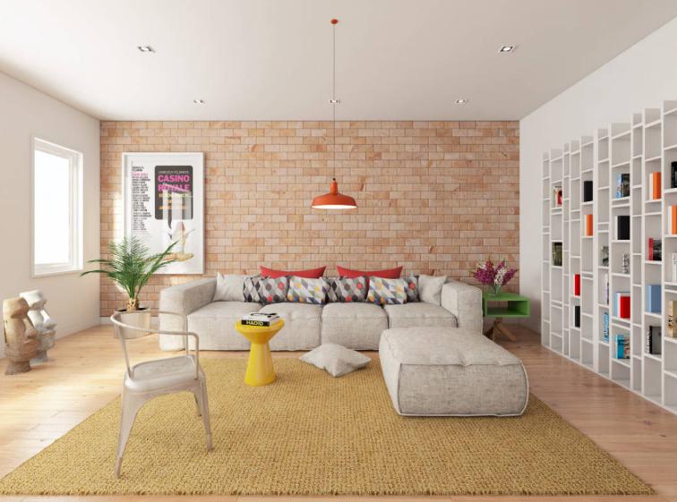 Dekorasi Interior Ruang Tamu Minimalis ruangan kecil dan sederhana