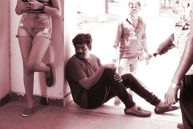 puri jagannadh new movie rogue working stills