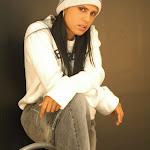 Andrea Rincon, Selena Spice Galeria 19: Buso Blanco y Jean Negro, Estilo Rapero Foto 39