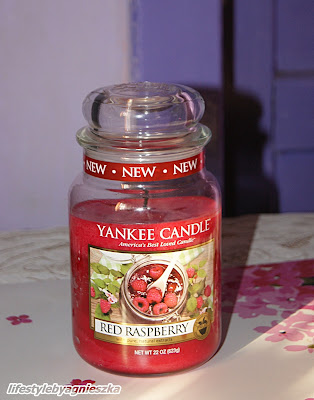 Yankee Candle Red Raspberry - słodka malinka?