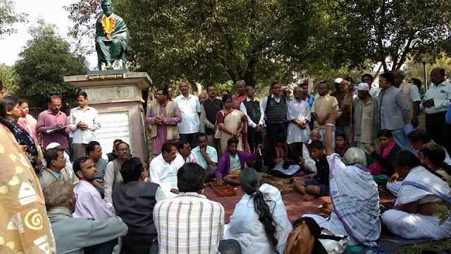 8 Rally On sahid diwas demanding  danga mukta cuttack  organise by Rastriya Yuva Sanghathan Odisha