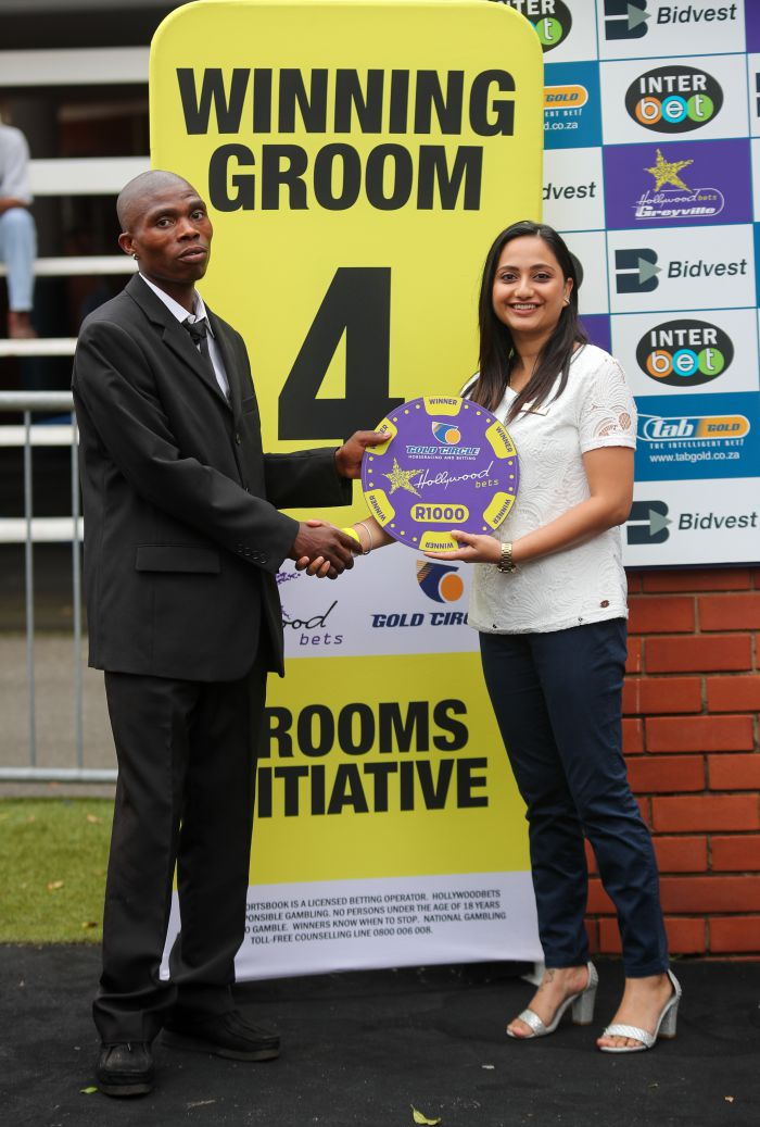Grooms Initiative Winner - 26th December 2019 - Race 4 - Mongezi Ncayane - ANTIGONUS